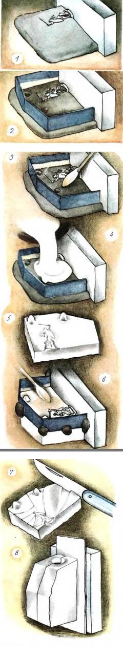 как сделать оловянного солдатика в домашних условиях